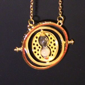 Jewelry - Hermione Granger Time Turner W/FREE Deathly Hallow